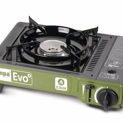 • Спецификации  Автоматично запалване  Горивна горелка от леки сплави от 2.2 кВт  Променлив контрол на топлината от накисване до завиране  Вградено устройство за защита от натиск и табла за разливане  Работи със P220 патрон (GA0227)  Защитна кутия за носене