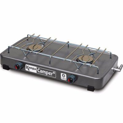 GA1101 Camper Gas Hob Charcoal